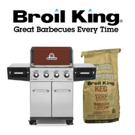 Broil King BBQ Grill and Logo