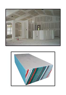 Drywall Products Sample Image