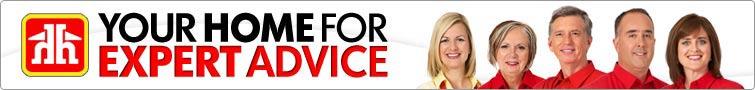 Home Hardware Expert Advice Banner