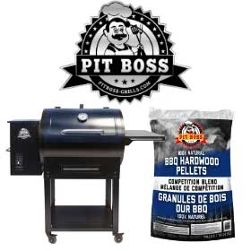 Pit Boss Grills BBQ Grill and Logo
