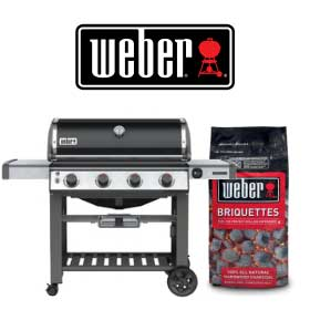 Weber BBQ Grill and Logo