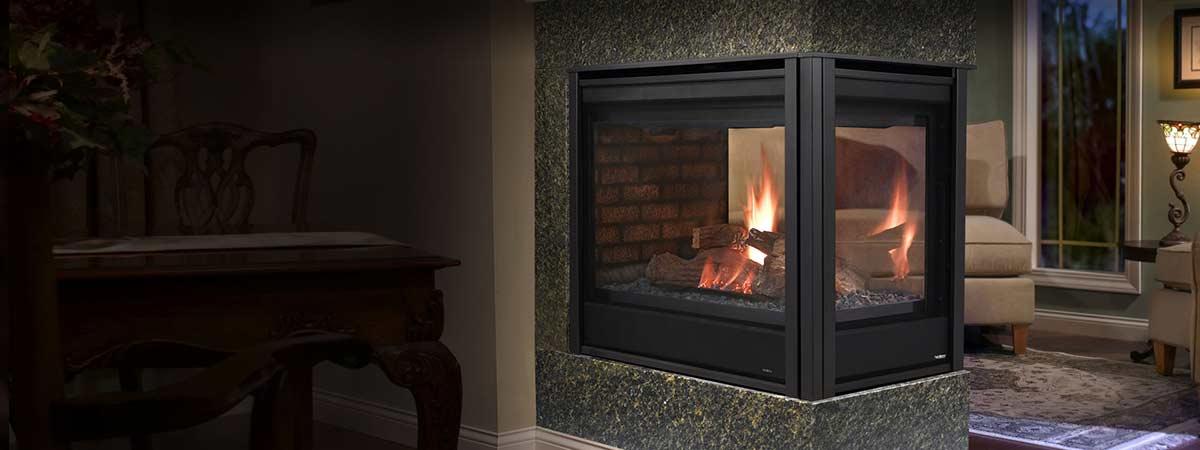 Heatilator Pennisula Gas Fireplace