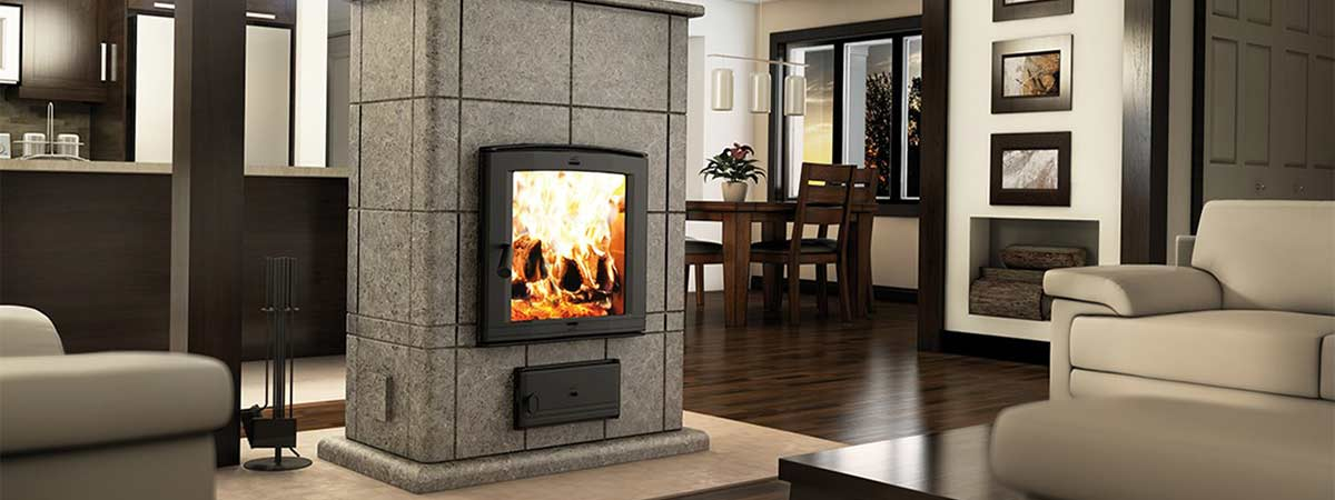 Valcourt Mass Wood Fireplace