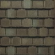 GAF's Camelot II - Weathered Timber Shingle Swatc