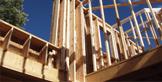 Home Building Center - Vernon - Framing In progress of a house