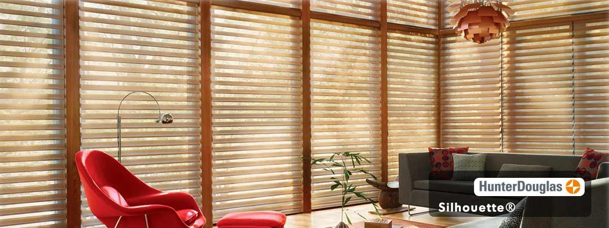 Hunter Douglas Silhouette Blinds - Dijon Color