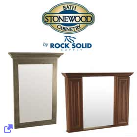 Rock Solid Supply - Stonewood Bath Mirrors