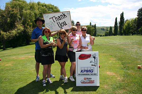 Hospice - Home Building Centre Community Golf-Thanks KPMG