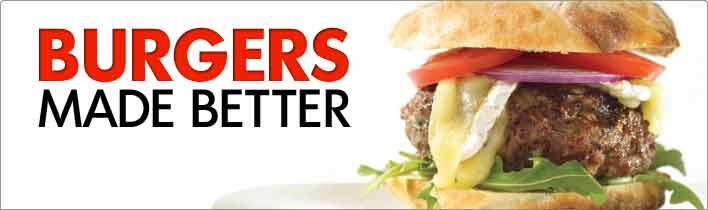 BBQ Burgers Made Better Banner