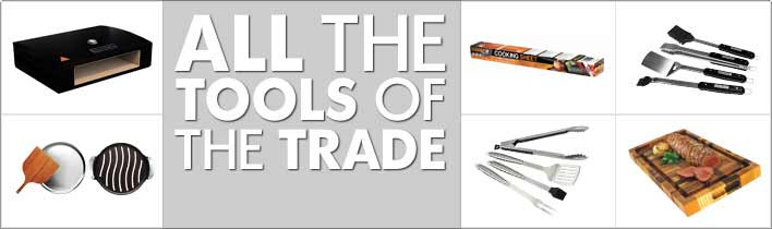 BBQ Tools Of The Trade Banner