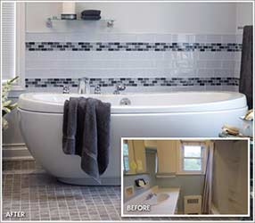 Anna's Complete Bathroom Renovation Winter DIY