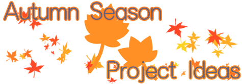 Autumn Season Project Ideas Banner