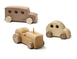 Children's Wood Toys Winter DIY