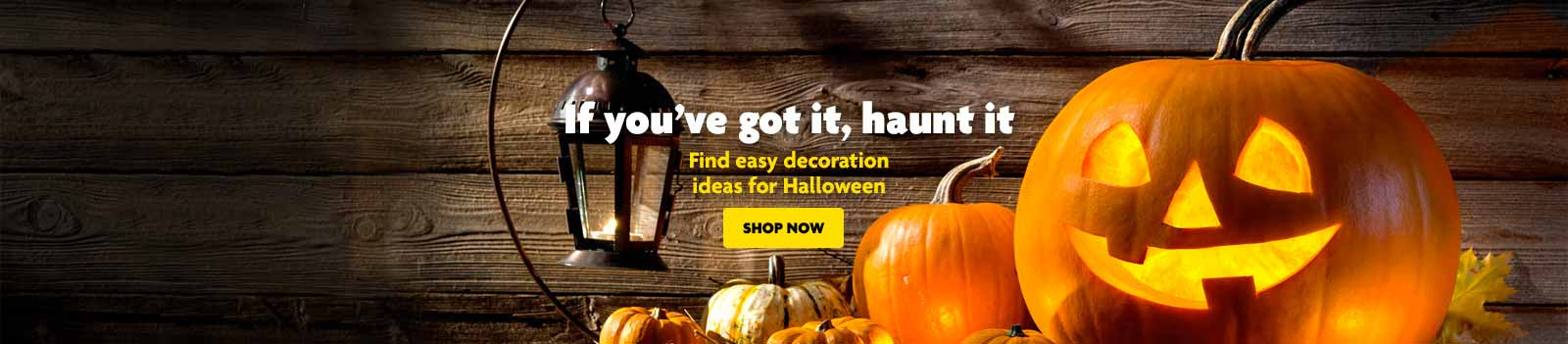 Halloween Decoration Ideas Banner