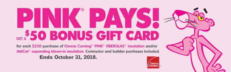 Pink Pays Promo Banner