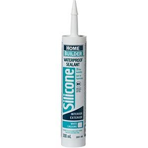 Home Builder 300ml white multipurpose waterproof silicone sealant