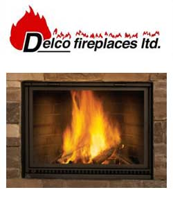 Delco Wood Fireplace