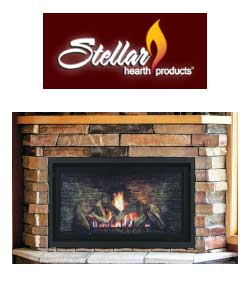 Stellar Hearth Products Gas Fireplace