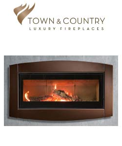 Town and Country Wood Fireplace