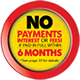 No Interest or Payments for 6 Months Logo 2-ICON