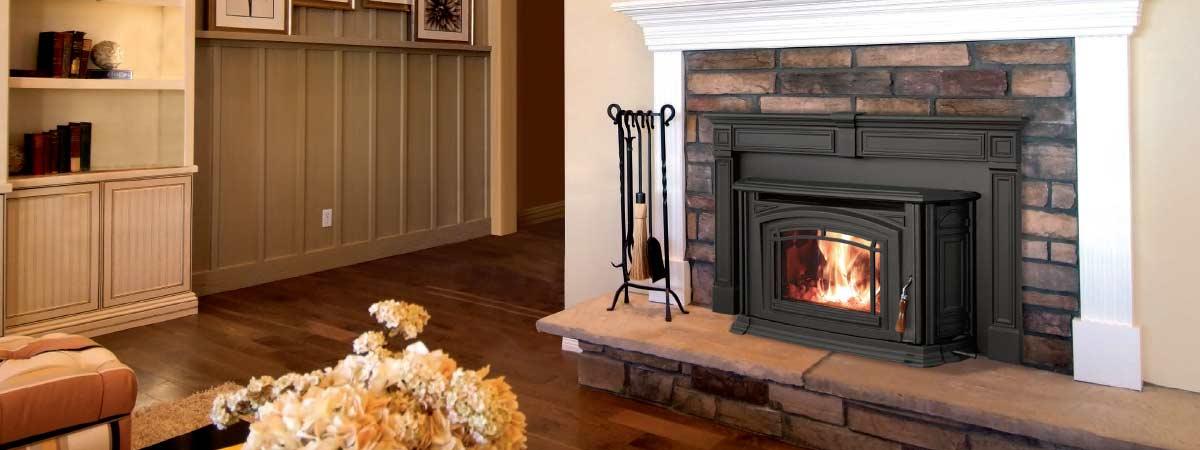 Enviro Theboston Wood Fireplace