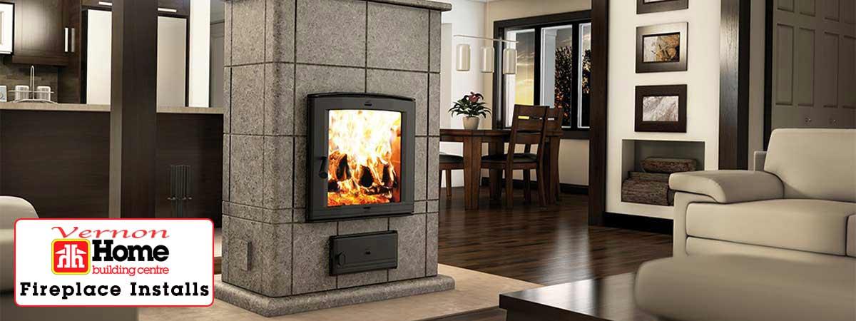 Vernon Home Building Centre - Fireplace Installs Slider Image