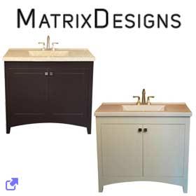 Matrix Designs Vanities