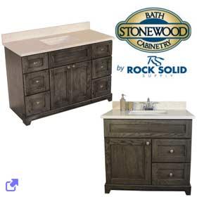 Stonewood Cabinetry Vanities