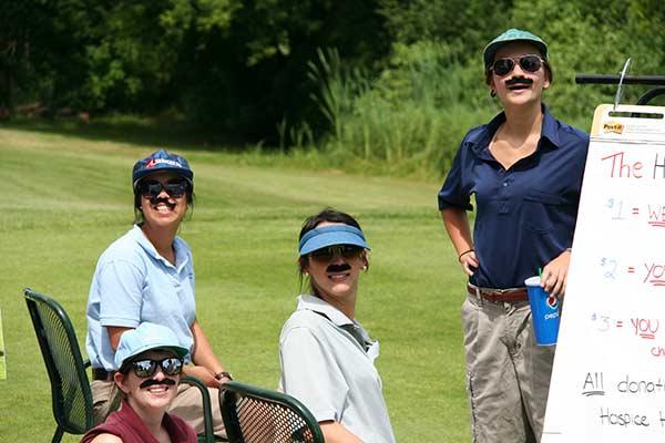 Hospice - Home Building Centre Community Golf-Female Moustaches