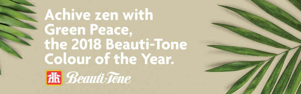 HBC Beautitone 2018 Green Peace Color Banner