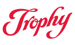Trophy Logo Red