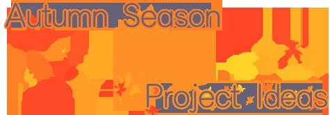 Autumn Season Project Ideas Banner