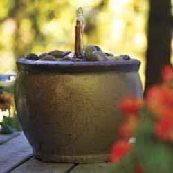 Deck Fountain Summer DIY