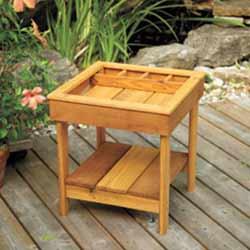 Deck Side Table Summer DIY