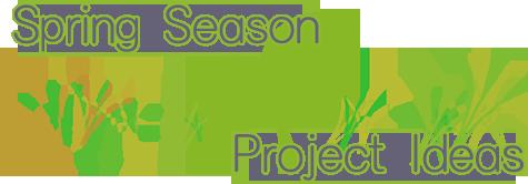Spring Season Project Ideas Banner