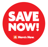 Save Now - Here's How Logo