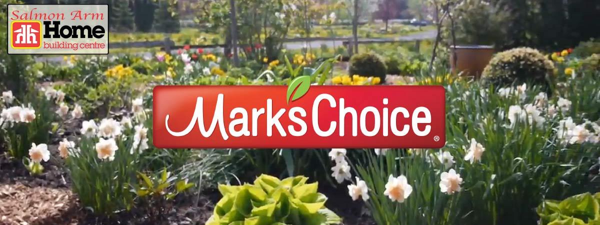 Gardening Supplies Marks Choice Logo Slider