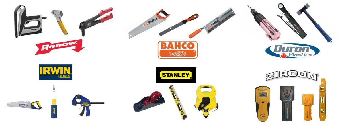 HBC Salmon Arm Hand Tools Banner