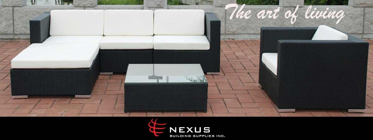 HBC Salmon Arm Outdoor Living Nexus Furniture Banner