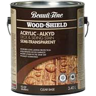 Woodshield Acrylic Deck Siding Semitransparent Stain
