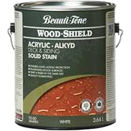 Woodshield Acrylic Deck Siding Solid Stain